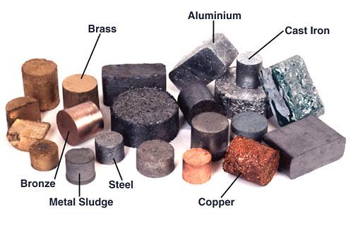 no ferrous metals